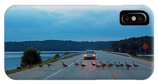 Goose Rush Hour IPhone Case