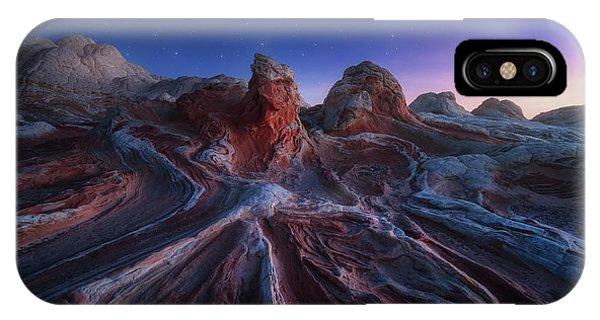Rock Formation iPhone Case - Gordian Stone Knot by Juan Pablo De