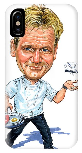 Superior iPhone Case - Gordon Ramsay by Art
