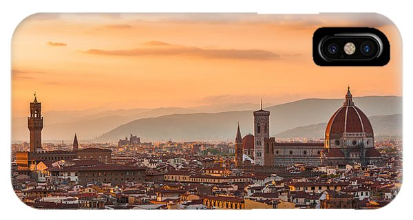 Gorgeous Florence City IPhone Case