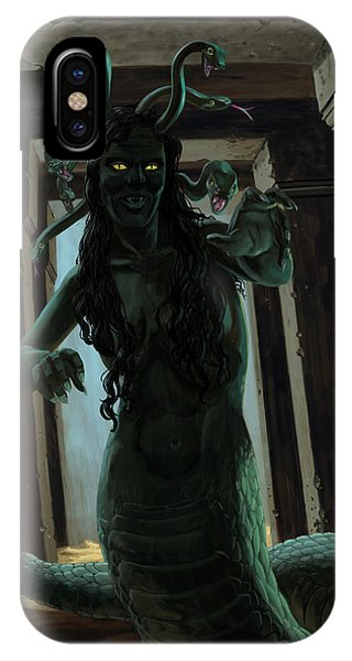 Gorgon Medusa IPhone Case