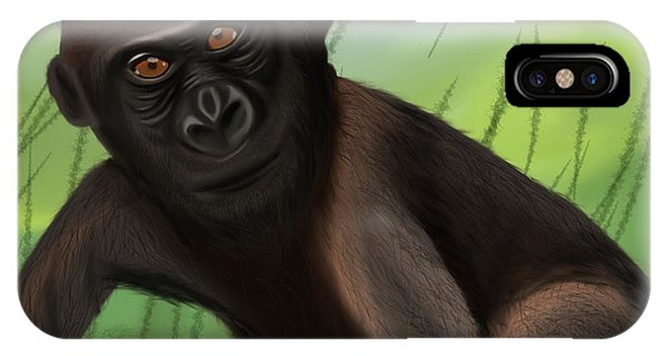 Gorilla Greatness IPhone Case