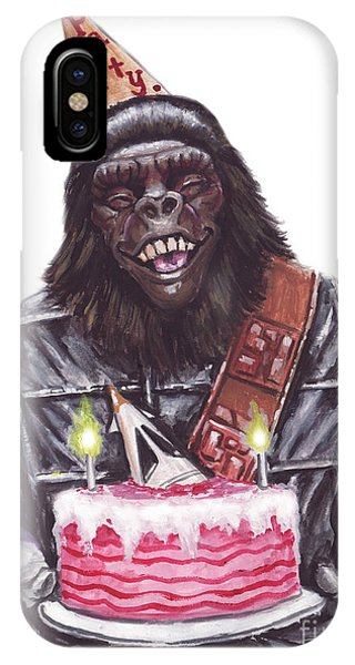Gorilla Party IPhone Case