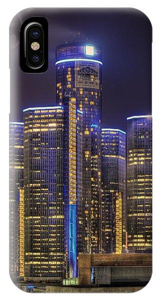 Gotham Detroit IPhone Case