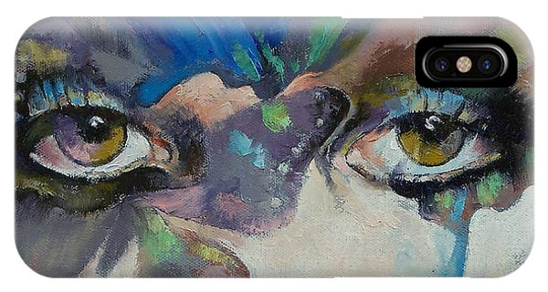 Portraits iPhone Case - Gothic Butterflies by Michael Creese