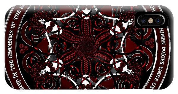 Gothic Celtic Mermaids IPhone Case