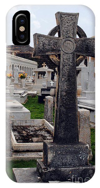 Gothic Cross IPhone Case