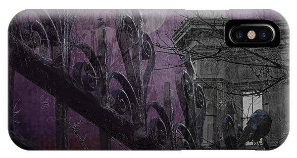 Gothic Moonlight IPhone Case