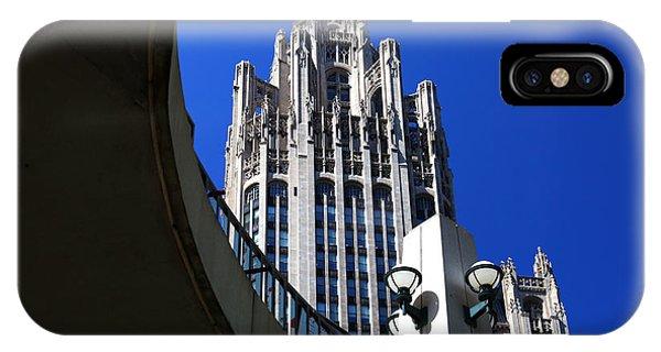 Gothic Tribune Tower Curve IPhone Case