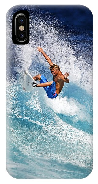 Gouging The Wave  C6j0694 IPhone Case