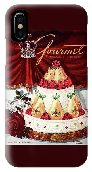 Gourmet Cover Featuring A Cake IPhone Case