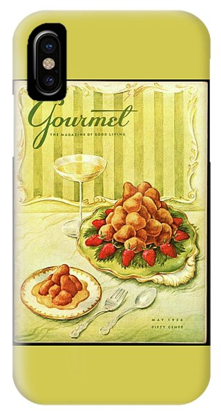 Gourmet Cover Featuring A Plate Of Beignets IPhone Case