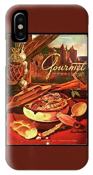 Gourmet Cover Featuring A Pot Of Stew IPhone Case