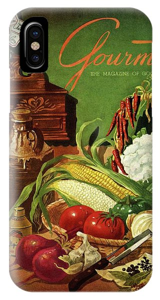 Gourmet Cover Featuring A Variety Of Vegetables IPhone Case