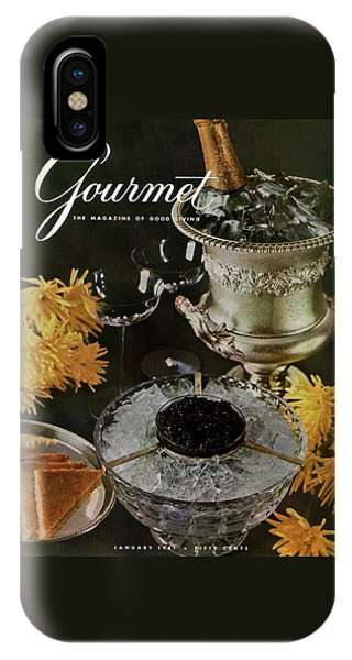 Gourmet Cover Featuring A Wine Cooler IPhone Case