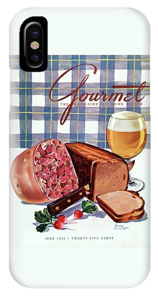 Gourmet Cover Featuring Bread IPhone Case