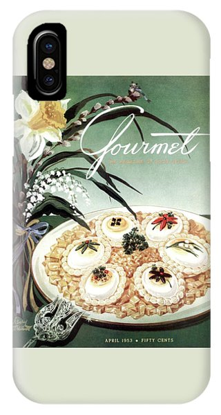 Gourmet Cover Featuring Poached Eggs On Cubed IPhone Case