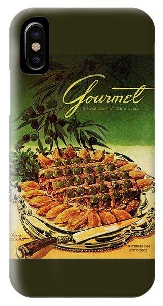 Gourmet Cover Illustration Of Entrecote A La IPhone Case
