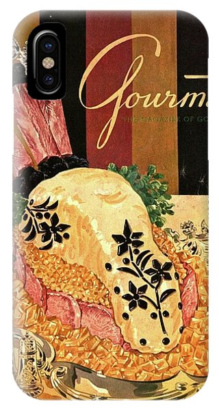 Gourmet Cover Illustration Of Langue De Boeuf IPhone Case