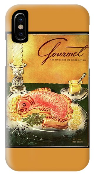 Gourmet Cover Illustration Of Salmon Mousse IPhone Case