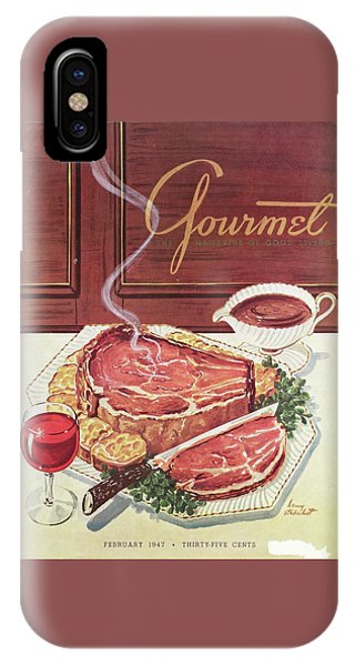 Gourmet Cover Of A Roast Beef IPhone Case