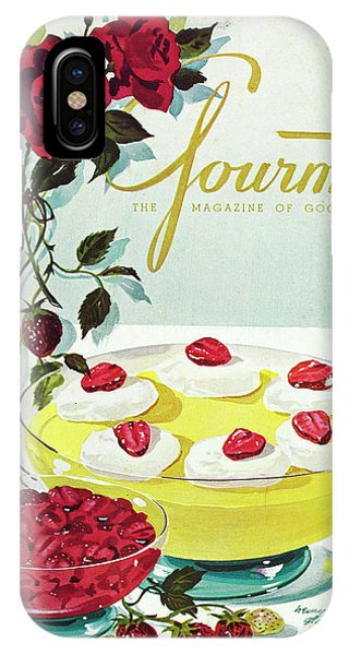 Gourmet Cover Of A Bowl Of Custard IPhone Case