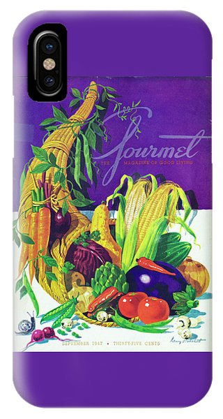 Gourmet Cover Of A Cornucopia IPhone Case
