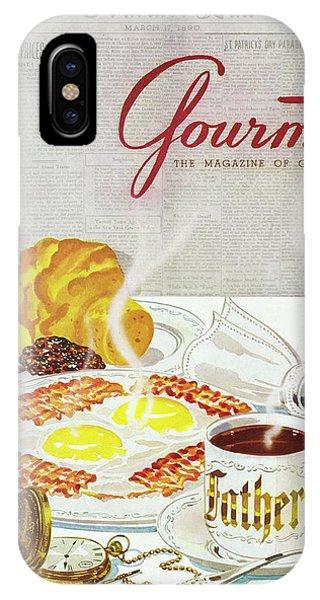 Gourmet Cover Of Breakfast IPhone Case