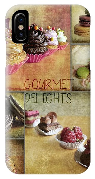 Gourmet Delights - Collage IPhone Case