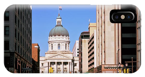 Government Building In A City, Indiana IPhone Case