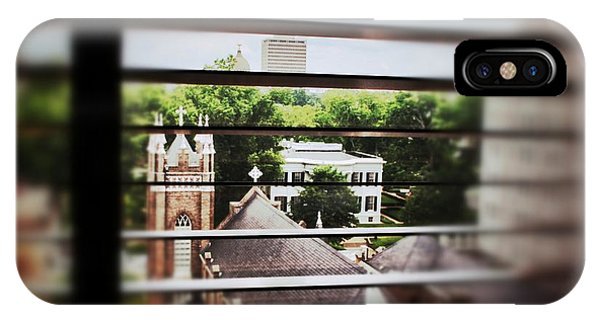 Governor's Mansion Blinds IPhone Case