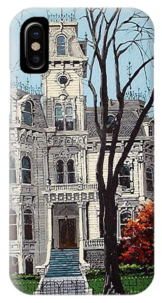 Governor's Mansion Phone Case by Paul Guyer