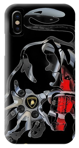 Grab The Bull By The Horns IPhone Case