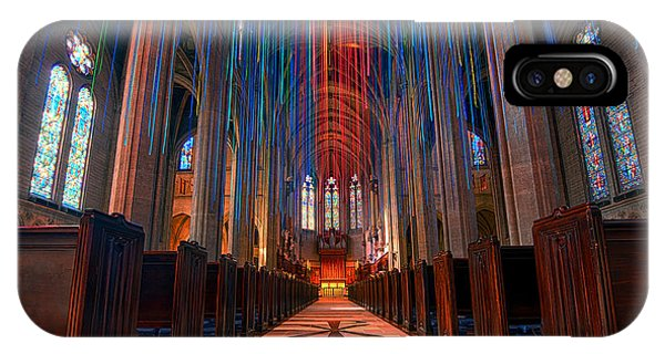 Grace Cathedral San Francisco IPhone Case