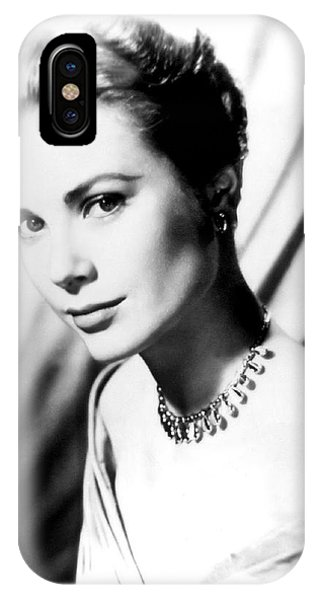 Leading Actress iPhone Case - Grace Kelly by Daniel Hagerman