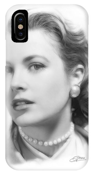 Grace Kelly Pencil IPhone Case