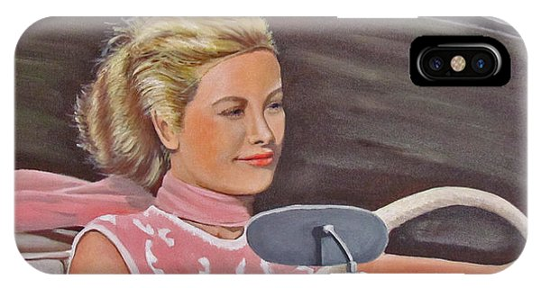 Grace Kelly - To Catch A Thief IPhone Case