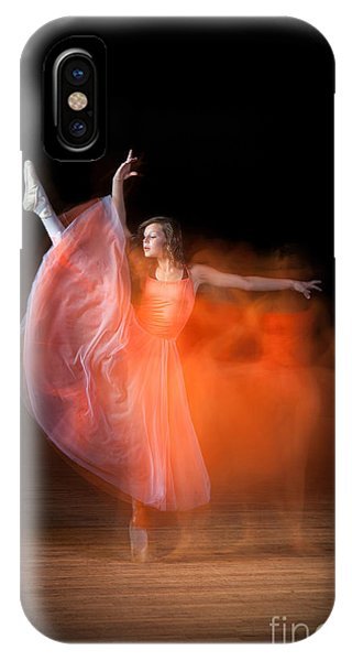 Graceful Ballerina Spirit Dance IPhone Case