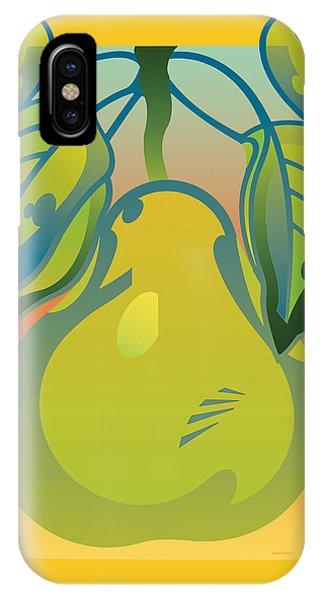 Gradient Pear IPhone Case