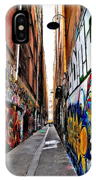 Graffiti Alley - Melbourne - Australia IPhone Case