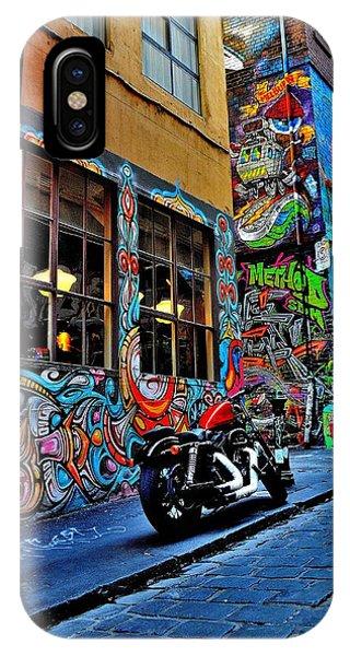Graffiti Harley Shoes - Melbourne - Australia IPhone Case