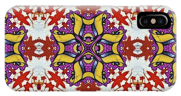 Graffito Kaleidoscope 40 IPhone Case
