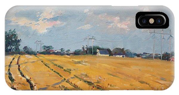 Grain iPhone Case - Grain Field by Ylli Haruni