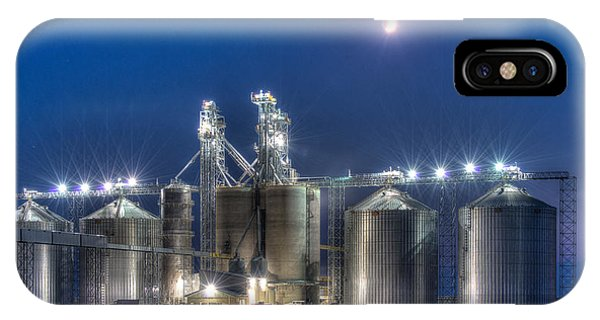 Grain Processing Plant IPhone Case