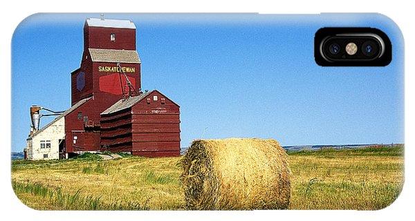Grain Silo Saskatchewan Phone Case by Buddy Mays