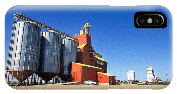 Grain Silos Saskatchewan Phone Case by Buddy Mays