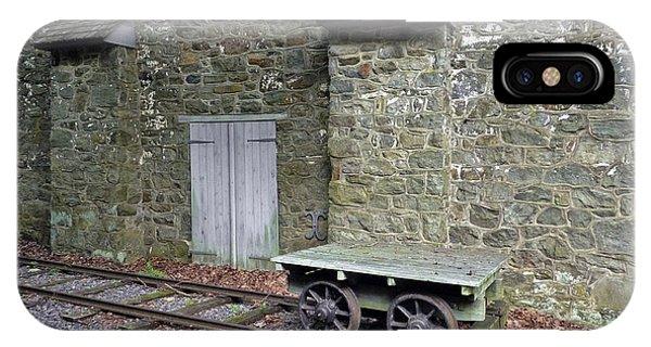 Graining Mill And Tram. Hagley Museum. IPhone Case