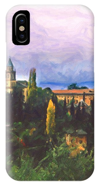 Granada Through The Keyhole IPhone Case