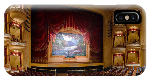 Grand 1894 Opera House - Orchestra Seating IPhone Case