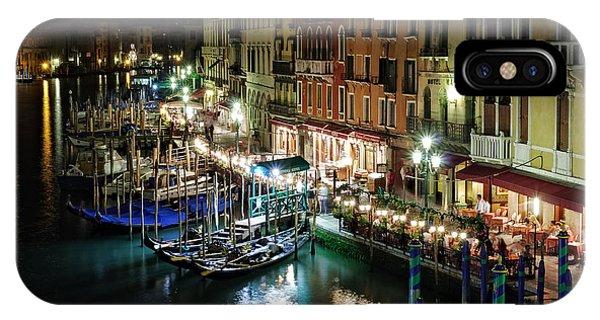 Grand Canal At Night. Venice Phone Case by Rostislav Bychkov